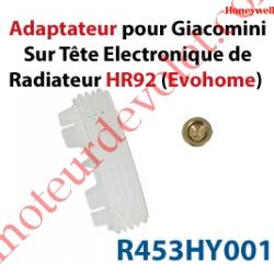 Tête Electronique HR92 de Radiateur Sans fil pour Système EvoHome
