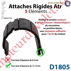 Attache Rigide Atr 5 éléments pour lames 13-14 mm