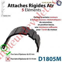 Attache Rigide Atr 5 éléments pour lames 8-9 mm