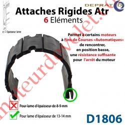 Attache Rigide Atr 6 éléments pour lames 13-14 mm