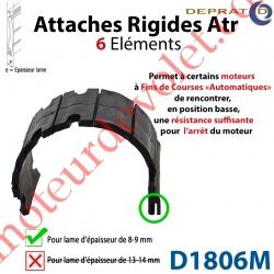 Attache Rigide Atr 6 éléments pour lames 8-9 mm