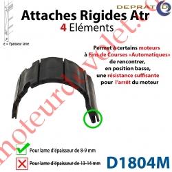 Attache Rigide Atr 4 éléments pour lames 8-9 mm