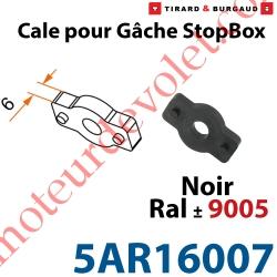 Cale en Matériau Composite épaisseur 6mm pour Gâche de l'Arrêt Automatique StopBox