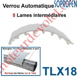 Verrou Automatique Soprofen Tasseur de Lames Avec 5 Lames Intermédiaires en Aluminium Brut Avec Feutrine