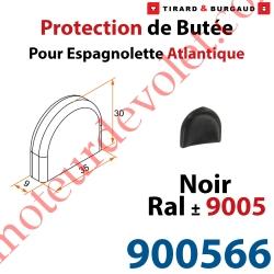 Protection de Butée d'Espagnolette Atlantique Noir ± Ral 9005