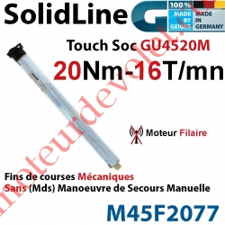 Moteur Geiger Filaire SolidLine Touch Soc 20/16 GU4520M