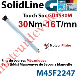 Moteur Geiger Filaire SolidLine Touch Soc 30/16 GU4530M