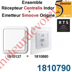 Ensemble Récepteur Centralis & Emetteur Situo Rts (1810137+1810636)