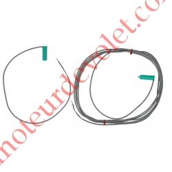 Cellules Photo Ose Diamètre 11mm (Barrage) Enfiler dans Barre Palpeuse 12vdc pour Porte Largeur Maxi 3m