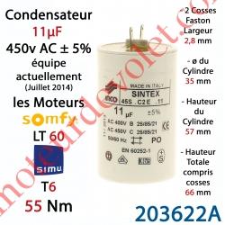 condensateur sintex