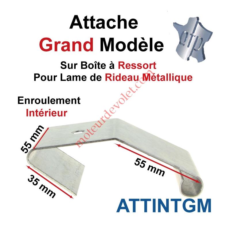ATP ATTINTGM Attache Grand Modèle Acier Galva sur Boîte Ressort pr ...