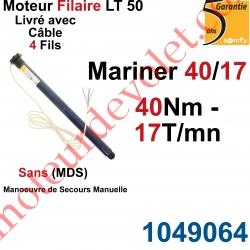 Moteur Somfy Mariner 40/17 LT 50