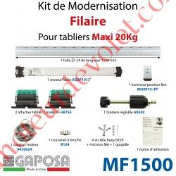 Kit de Modernisation Bloc Baie Fenêtre Filaire