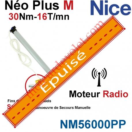 Moteur NéoPlus M 30/16 Radio 433,92MHz Rolling Code M 50 sans Mds