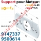 Plaque Support pour Moteur Ls 40 Livrée avec 2 Vis Plastite n°7 Cple Maxi 13 Nm