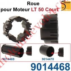 Roue pr Moteur LT 50 Court s'adapte dans Embout Court pour Tube Zf 54 ou Octo 60