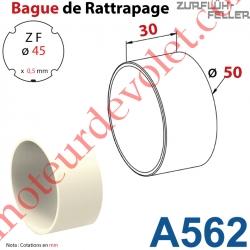 Bague de Rattrapage pour Tube Zf 45