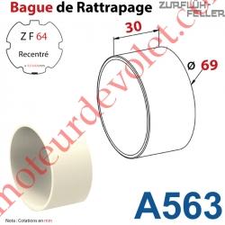 Bague de Rattrapage pour Tube Zf 64