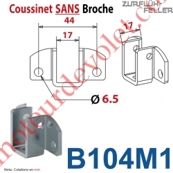 Coussinet Sans Broche