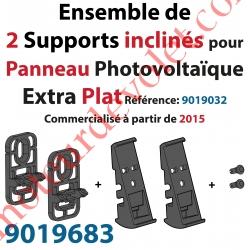 Support Incliné pour Fixation du Panneau Photovoltaïque Solaire AutoSun Extra Plat Modèle 2015