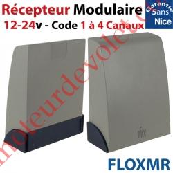 Récepteur Modulaire 12-24 v ca/cc 433,92MHz Rolling Code 1 à 4 canaux