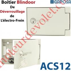 Boîtier Blindoor de Déverrouillage de l'Electro-Frein en Saillie de 35 mm 2 Clés Plates Sans Inverseur
