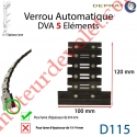 Verrou Automatique Dva 5 éléments pour lames 8-9 mm
