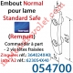 Embout N (Normal) de lame Standard Safe Rempart