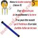 Moteur Somfy Altus Rts C2 15/17  LT 50