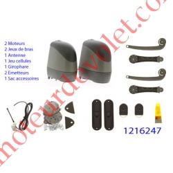 Axovia 220B Pack Fabricant Confort Rts (2 Mot av Arm Int, 4 bras alu, 2 ém 4 cx,giro anten,cell)