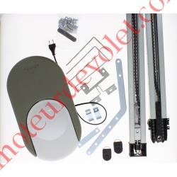 Dexxo Pro 800 Rts Pack Chaîne avec 2 émetteurs KeyGo Rts 4 Canaux