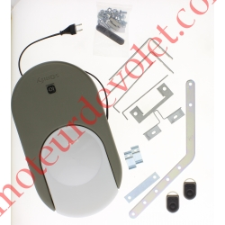 Dexxo Pro 800 io Tête Moteur 90 000 Cycles Force 80 Kg avec 2 émetteurs Keygo io 4 Canaux