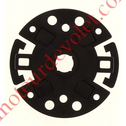 Support Moteur TM 45, 2 trous entraxes 48 mm et 60 mm, 4 trous entraxes 56,5 x 18,5 mm