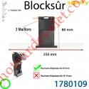 Verrou Automatique Blocksûr de 2 Maillons pour lame 8-9 mm