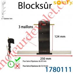 Verrou Automatique Blocksûr de 3 Maillons pour lame 8-9 mm