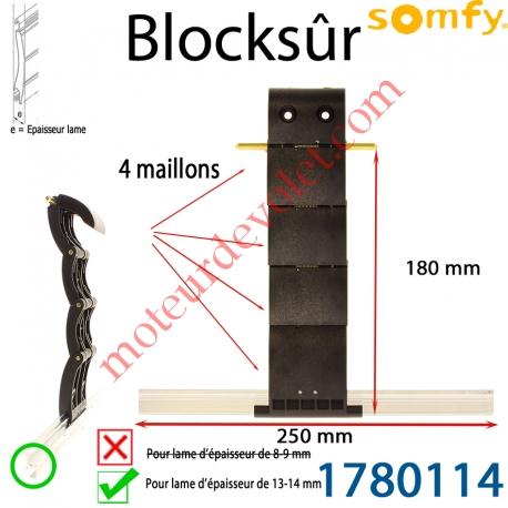 Verrou Automatique Blocksûr de 4 Maillons pour lame 13-14 mm