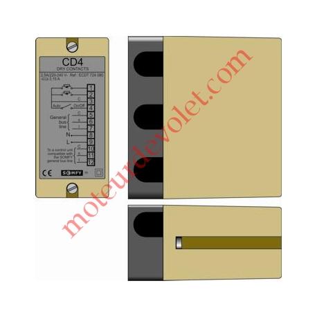 Module de Micro Commande CD4 + Stop Spécifique