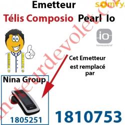 Emetteur Télis Composio Pearl io (pour commander 40 groupes de produits)
