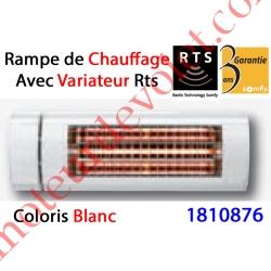 Rampe de Chauffage à Variateur Intégré Rts Coloris Blanc ± Ral 9010