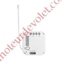 Micro Récepteur d'éclairage Marche - Arrêt Zwave Puissance Maxi entre 300 et 2 500 w ip20