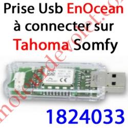 Module EnOcean à Connecter au port Usb du Boîtier Tahoma