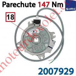 Parechute Sécurité Réarmable 147 Nm Entraîn Carré 18 mm Av Cont Sécu Câb Lg 1m Ss Viss