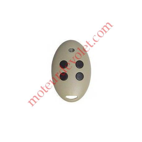 Emetteur Somfy Mitto 4 Canaux 433,92 MHz ou 433NL Coloris