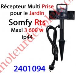 Récepteur Multi Prise pour le Jardin Rts ip 44 Puissance Maxi 3 600 w