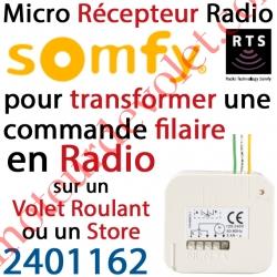 Micro Récepteur Rts pour Volet Roulant ip20