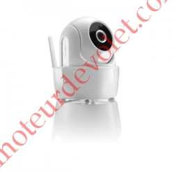 Caméra de Surveillance Intérieure Motorisée Somfy Visidom ICM100