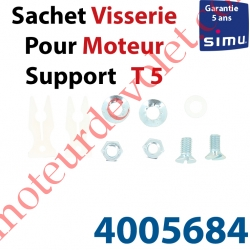 Sachet de Visserie & Rondelle pour Support Moteur T5 en C