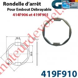 Rondelle pour Embout Débrayable 419F901