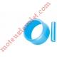 Goupille Cylindrique Inox & Bague de Blocage Marron pour Tube ø Ext 15 mm