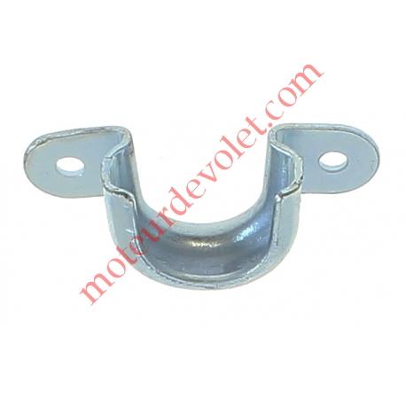 Support Roulement ø 28 mm à 2 Oreilles en Acier Galva 2 Trous ø4,5 mm Entr'axes 42 mm